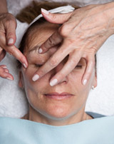 Facial Reflexology treatment